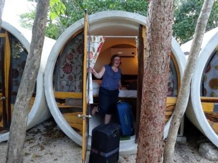 In Hostel Tubo in Tulum